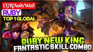 Ruby New King, Fantastic Skill Combo [ Top 1 Global Ruby ] CGR|AndyWizZ Ruby Mobile Legends