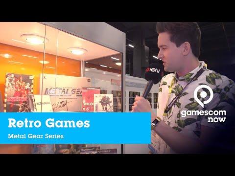 #gamescom2019 - Retro Gaming - Metal Gear Series | IGN @ gamescom now