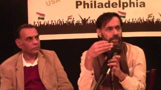 Philly AAP Part Aam Aadmi Party Philadelphia - Part 4 Prof. Anand Kumar and Dr. Yogendra Yadav