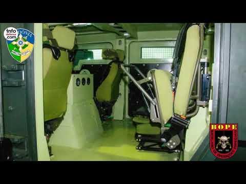 La Policía Militar de Rondônia adquiere el vehículo Gladiator II de Inbrafiltro