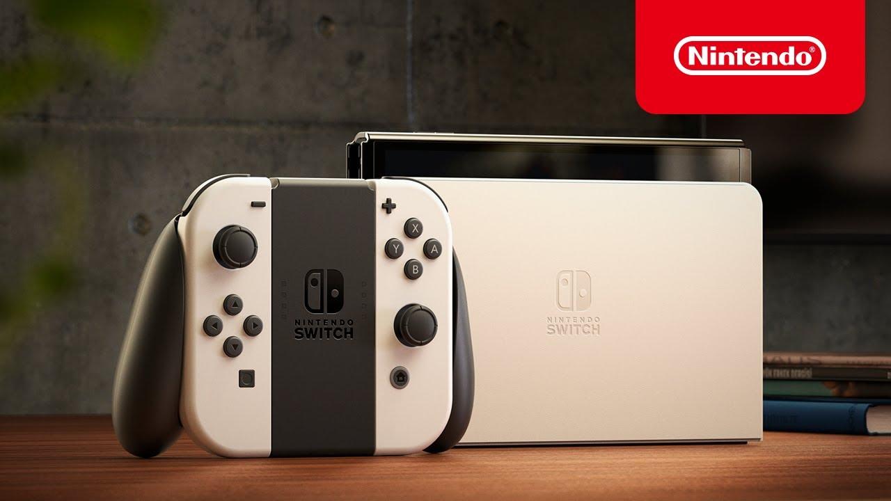 Nintendo Switch modelo OLED – Tráiler de presentación