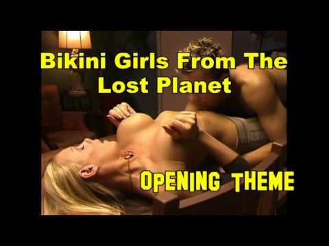 Bikini girl lost planet