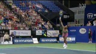 Serena Williams - Service Action In Slow Motion