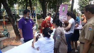 Rayakan Hari Rabies Sedunia, Sudin KPKP Jakut Gelar Vaksinasi Hewan Gratis di RW 20 Sunter Agung