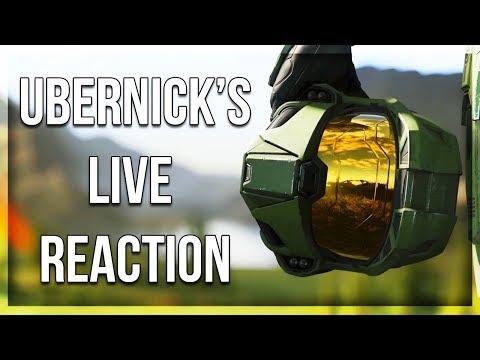 Halo Infinite - UberNick's Hilarious Live Reaction!