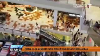 <b>Gempa</b> 56 SR Guncang Medan Warga Panik