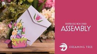 SVG File - Easter Egg Box Card - Assembly Tutorial