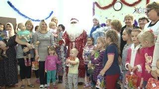 Чудесное перевоплощение в Деда Мороза. В акции «Сказка без границ» приняли участие члены Общественно