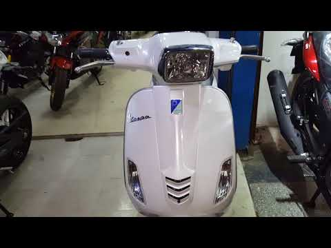 New Piaggio Vespa -SXL – 2018 | Special Edition | Full Spec | Features | Price & Vespa Review 2018