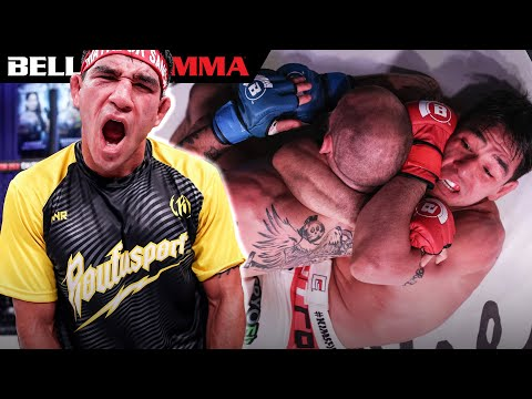 Top Fight Ending Knockout Submissions by Sanchez!   BELLATOR MMA
