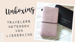 Unboxing Travelers Notebook von Liebeskind | Liebeskind Kalender macaque pink | deutsch | filolove_