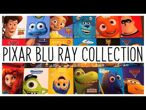 Disney Pixar Blu-Ray Collection