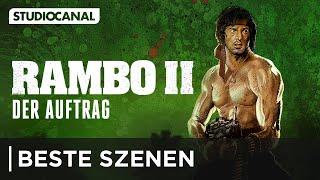 Die besten Szenen aus RAMBO II - Der Auftrag - mit Sylvester Stallone