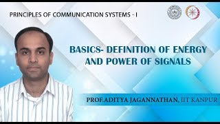 Lec 01 | Principles of Communication Systems-I | Basics | IIT KANPUR