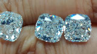 How To Buy Best Deal Cushion Cut Diamond Earrings #london