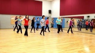 Unchained Melody - Line Dance (Dance & Teach in English & 中文)
