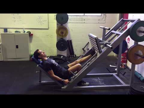 Single Leg Calf Raise on Leg Press