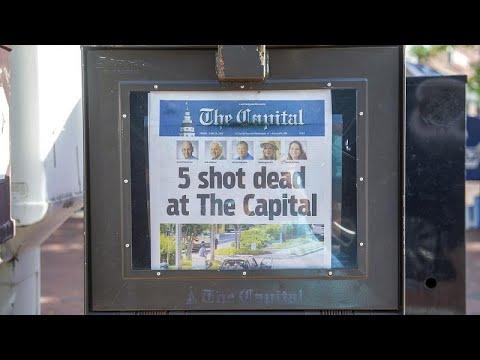 Αιματοβαμμένο το πρωτοσέλιδο της εφημερίδας Capital
