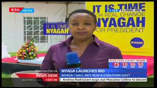 Former presidential adviser Joe Nyaga pulls a surprise as he launches his presidential bid
