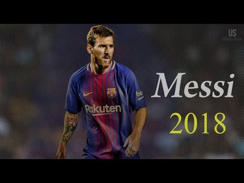 Lionel Messi ● Dribbling Skills & Goals ●Slow Motion  2018 (HD)
