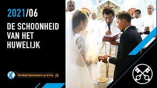 Paus: de schoonheid van het huwelijk
