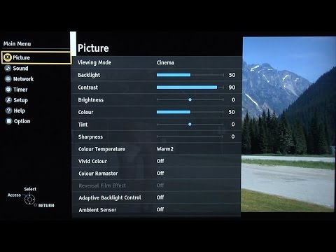 Panasonic TX-50DX750B Best TV Picture Settings