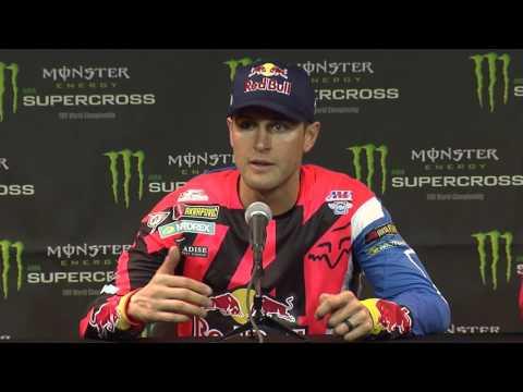 450SX Class Press Conference - Anaheim Third Round - Race Day LIVE 2017