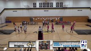 Argos Volleyball vs SB Career Academy (Pink Out game)