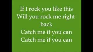 Danny Saucedo - Catch Me If You Can Lyrics On Screen