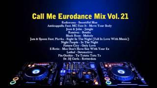 Call Me Eurodance Mix Vol. 21