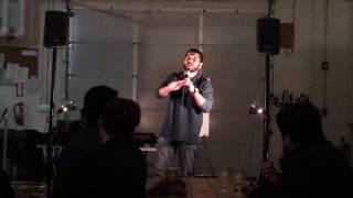 Leon Scott - Power of Positive Drinking at Right Proper Brookland pt 1