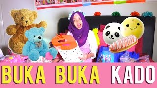 BUKA BUKA KADO + DAPET BANYAK SQUISHY, BONEKA, TAS | PART 1 | Fatimah halilintar