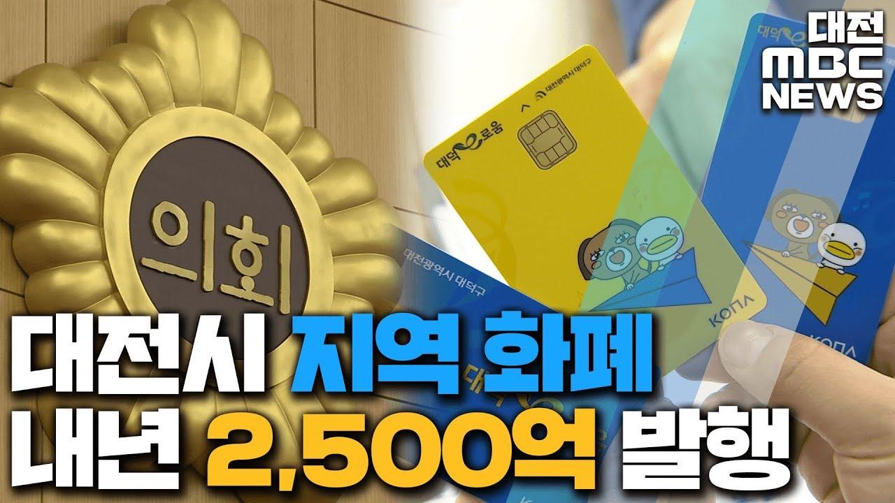 지역화폐 발행 근거 마련..할인율 5%?/리포트