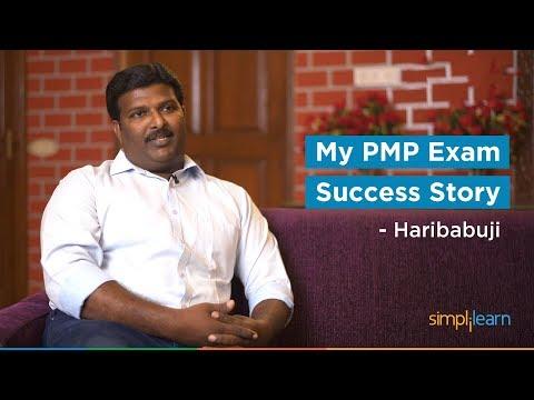 My PMP Exam Success Story - Haribabuji   Simplilearn Reviews