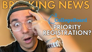 Priority Registration Disaster: College Board SAT Registration Issues