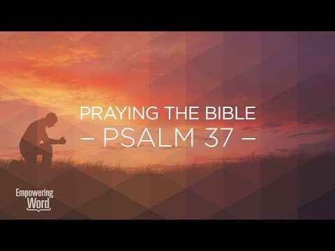 The Steps of the Righteous – Psalm 37 (Praying the Bible)