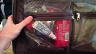preview picture of video 'How to pack carry-on bag for air travel'