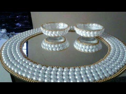 Aarti Thali Decoration  Idea's||Thali Decoration|| Pooja Thali Decoration.