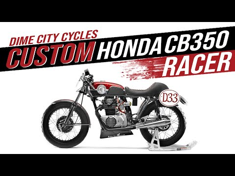 Honda CB350 Cafe Racer 2019 AHRMA Motorcycle Build