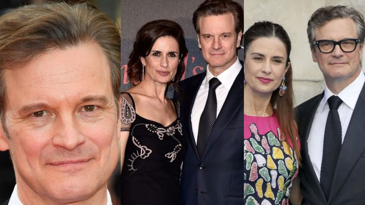 Actor Colin Firth Family Photos Wife Livia Giuggioli, Son ...