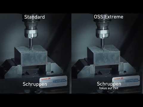 MILL S U Series - Geschwindigkeit und hohe Oberflächenqualität - in Einem vereint
