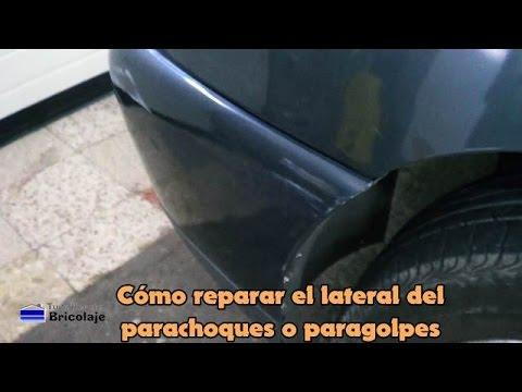 Cómo reparar el lateral del parachoques o paragolpes