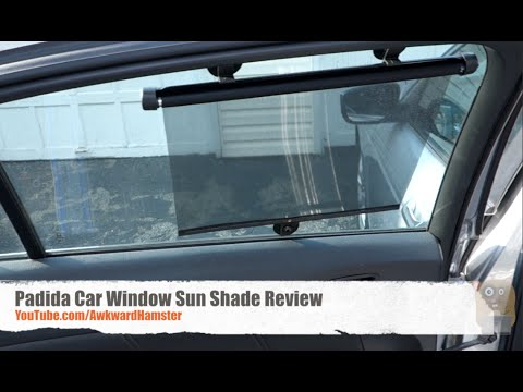Padida Car Window Sun Shade Review