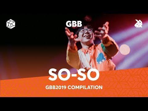 SO-SO   Grand Beatbox Battle Loopstation 2019 Compilation