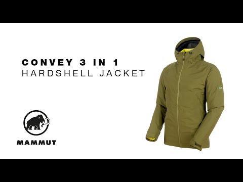 brand new cbe3e 884ae Mammut Convey 3in1 HS Hooded Jacke schwarz (Herren) (1010-26470-0052) ab €  240,50