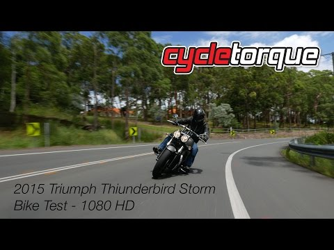 2015 Triumph Thunderbird Storm