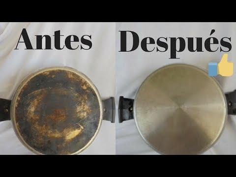 Limpiar Ollas Quemadas Con Dos Ingredientes Naturales
