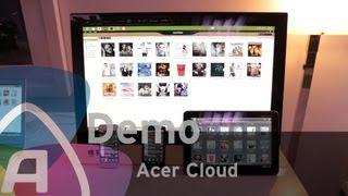 Acer Cloud demo