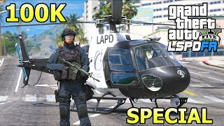 GTA 5 Mods - Advanced Helicopter SWAT Team!! (LSPDFR Gameplay)