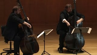 Valse Triste for six Double Basses